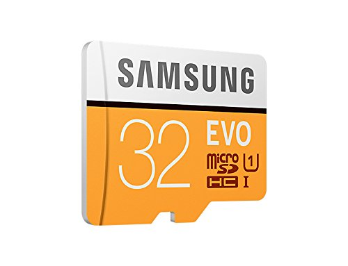 Samsung MicroSDXC EVO   Tarjeta de memoria (MicroSDXC EVO  32 GB  SDXC  Clase 10  95 MB/s  UHS I  10000 ciclos por sector lógico)