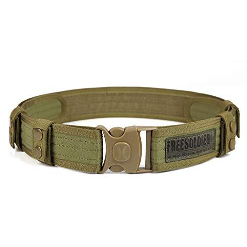 MEI XU Gürtel Outdoor-Militär Enthusiasten spezielle Taktische Gürtel, um die äußeren Gürtel Camping hängen Nylon Training Sicherheit Taille Dichtung Schlamm Farbe zu erweitern (Dichtung Schlamm)