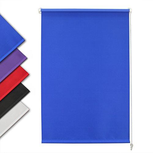 Auralum tende da sole a rullo per esterno tende impermeabile (larg.x lung.) 140 x 175 cm blu