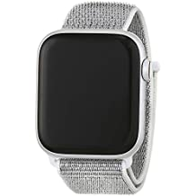 Apple Watch Series 4 - Reloj inteligente (GPS + cellular) con caja de 44 mm de aluminio en plata y correa Loop deportiva en color nácar: Amazon.es