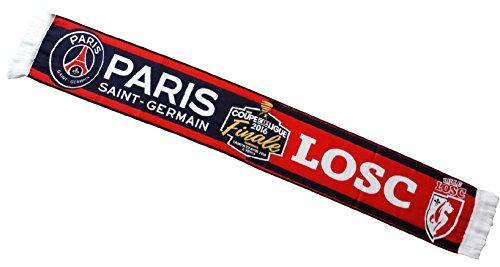 Coupe de la Ligue 2016 ECHARPE PARIS SAINT GERMAIN PSG/LOSC LILLE - Finale