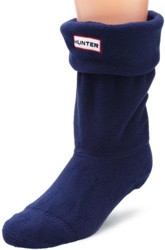 Hunter Socks - Hunter Short Welly Socks - Navy (Welly Socks Hunter Fleece)