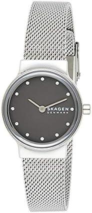 Skagen Freja Women's Grey Dial Stainless Steel Analog Watch - SKW