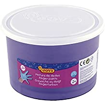 Jovi - Bote con pintura de dedos, 500 ml, color violeta (56123)