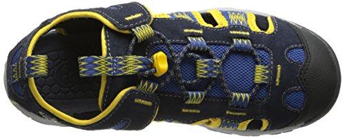 Timberland Belknap Sandal Ftk_belknap Fisherman, Sandales ouvertes mixte enfant Bleu - Bleu