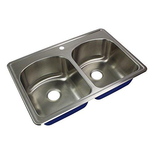 Transolid MTDD33229-1 Kitchen Sink, Stainless Steel
