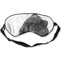 Black Pug Dog 99% Eyeshade Blinders Sleeping Eye Patch Eye Mask Blindfold For Travel Insomnia Meditation preisvergleich bei billige-tabletten.eu