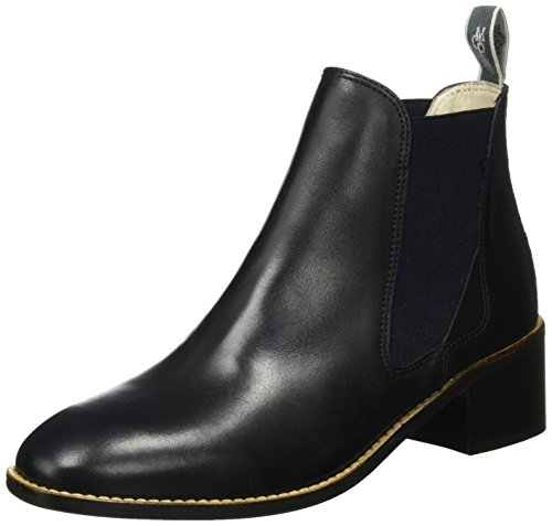 Marc O'Polo Damen Mid Heel Chelsea 70714165101101 Boots, Schwarz (Black), 42 EU (Mops Boot Black)