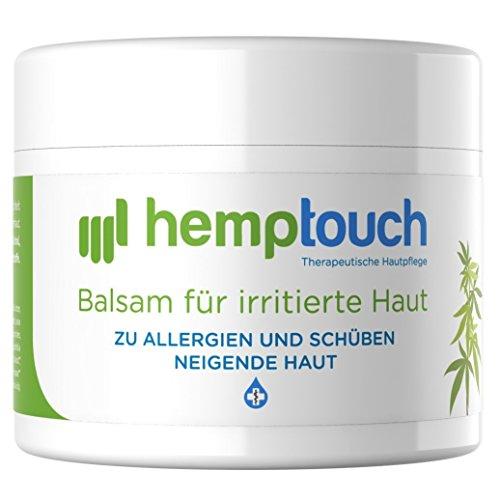 Eczema crema de cannabis – 40-60 mg CBD – Pomada de aceite de cannabidiol organico para piel irritada – 50 ml – Trata la psoriasis