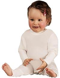 SensipurZINK, Baby-Strampler mit Zink, mit Stülphandschuhen