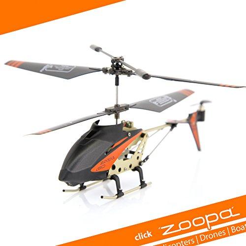 Restbestand/Abverkauf- zoopa 150 Turbo Force Back | !! Nur Helikopter !! | 2,4GHz -ohne Akku- | Ersatzhelikopter (AA0172) inkl. USB Ladekabel -