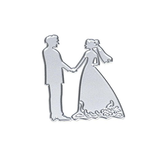 Used, Covermason Romantic Metal Wedding Cutting Dies Stencils for sale  Delivered anywhere in UK