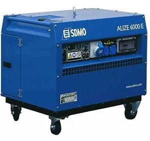 - Groupe électrogène monophasé 6.05kVA Prestige Alize 6000 E moteur HONDA GX 390