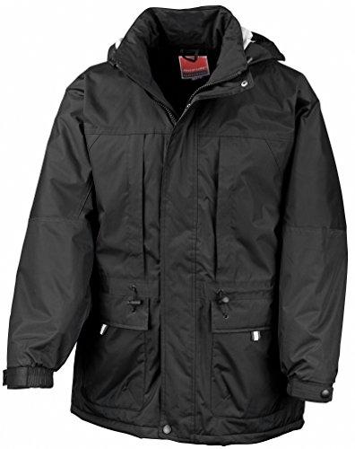 Result Multifunction Winter Jacket Schwarz / Schwarz