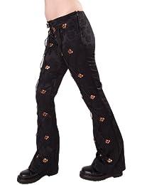Aderlass Steampunk Pants Brocade SALE Black