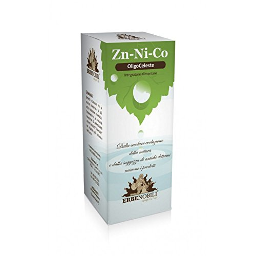 ErbeNobili Oligoceleste Zinco/Nichel/Cobalto Integratore Alimentare 50ml