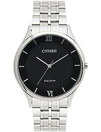 Citizen Herren-Armbanduhr Analog Quarz Edelstahl AR0071-59E