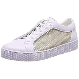 Bugatti Damen 431525625969 Slip On Sneaker, Weiß (White/Metallic 2090), 37 EU