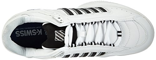 K-Swiss Performance KS TFW DEFIER Herren Tennisschuhe Weiß (WHITE/BLACK)