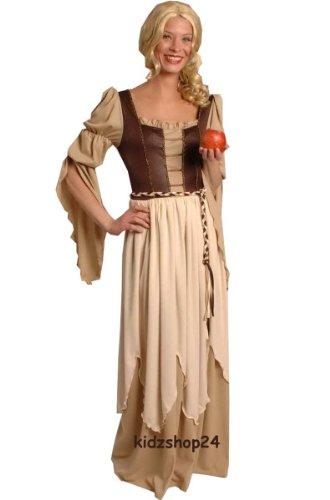 ittelalter Gothic Larp, Gr. 36 38 (Magd Mittelalter Kostüm)
