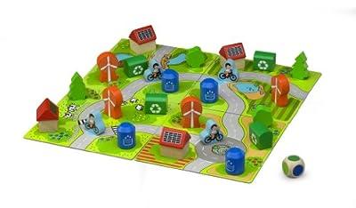 Wonderworld en Bois Eco Town Jeu de société