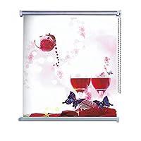 الستائر رول المعتمة مطبوع  ثلاثية الأبعاد  لجميع غرف المنزل لمنع شعاع الشمس-9971