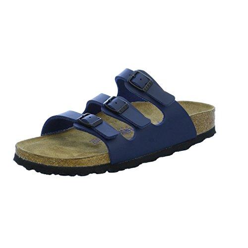 Birkenstock Original Florida Birko Flor Schmal Soft-Footbed, , blue, 554713 37,0 (Soft Florida Footbed)