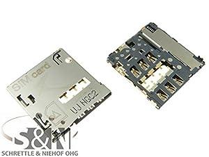 NG-Mobile Original HTC ONE MAX Sim-Slot Kontakte Simleser Schacht Kartenleser Einschub