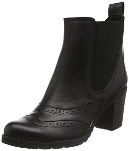 Andrea Conti 1672707, Bottes Classiques femme Noir - Schwarz (schwarz 002)
