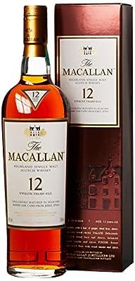 The Macallan Highland Single Malt Scotch 12 Years Old - matured in Sherry Oak Casks Whisky (1 x 0.7 l)