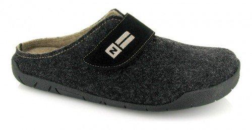 NORDIKAS, Pantofole uomo nero nero nero Size: 40
