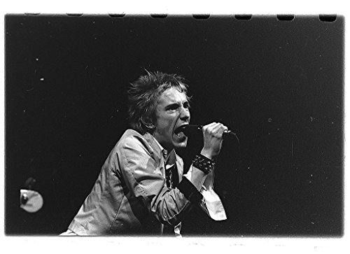 POSTER Sex Pistols i Norge 1977 Beskrivelse:Sex spiller Studentersamfundet Trondheim Det engelske punkbandet holdt to legendariske konserter Nor Norway Noreg Norwegian Wall Art Print A3 replica