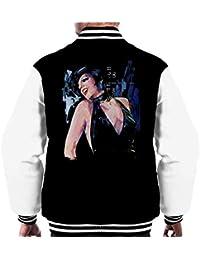 Sidney Maurer Original Portrait of Liza Minnelli Cabaret Mens Varsity Jacket