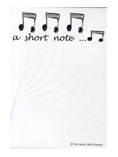 "Notizblock–Design: Achtelnoten ""A Short Note..."" Standard"