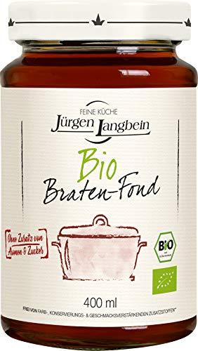 Jürgen Langbein Bio Braten-Fond, 8er Pack (8 x 400 ml)