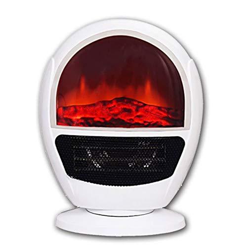 Lapden hot ptc ceramica stufetta camino heater simulazione di fiamma domestica air heater con 2 impostazioni di calore/risparmio energetico/variabile termostato/protezione da surriscaldamento