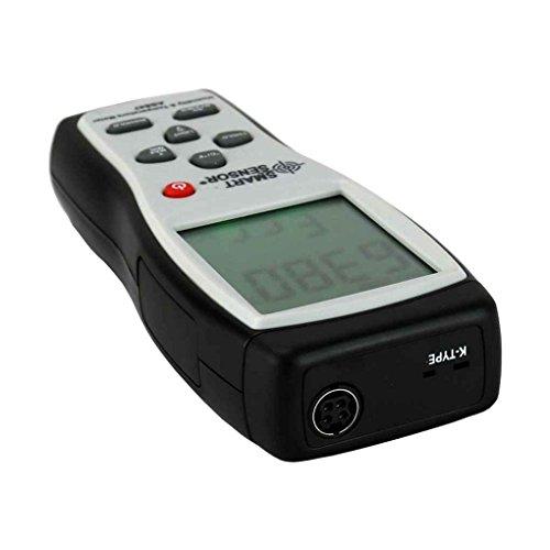Censhaorme SMART Sensor AS847 Hygrometer Thermometer K-Typ Digital-Feuchtigkeits-Temperatur-Messgerät für industrielle Verwendung im Freien -