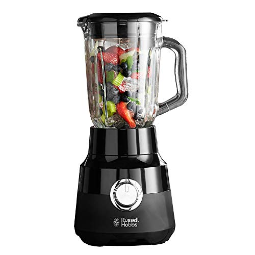 Russell Hobbs 24722 Desire Jug Blender, 1.5 Litre Smoothie Maker and Soup Liquidiser, Matte Black, 650 W