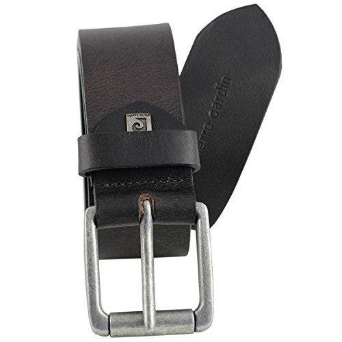 Cintura in pelle da uomo/cintura da uomo Pierre Cardin, 70092marrone marrone XXXL