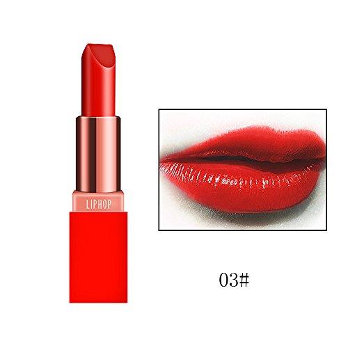 POachers Imperméable Rouge À Lèvres Lisse Longue À L'eau et Durable Rouge À Lèvres Mat Brillant À Lèvres Rouge à lèvres Imperméable Longue Durée Cosmétique Beauté