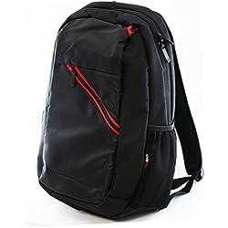 Navitech sacoche besace noir et rouge pour LENOVOZ51-70 80K6012HFR / LENOVO Z51-70 80K6012CFR