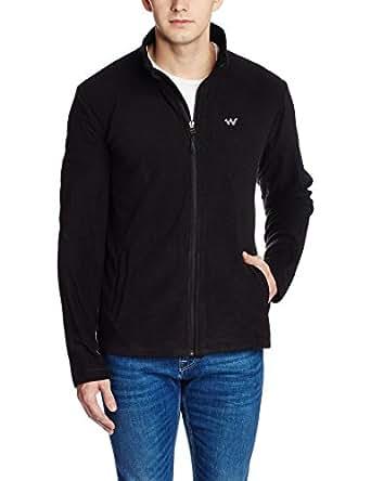 Wildcraft Men's Polyester Jacket (8903338046363_Azi Fleece Jacket-M Ant S)