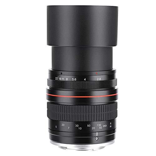 EBTOOLS Objectif Grand-Angle Manuel à Focale Fixe pour Téléobjectif Plein Format 135 mm F2.8 DSLR(Canon EF)