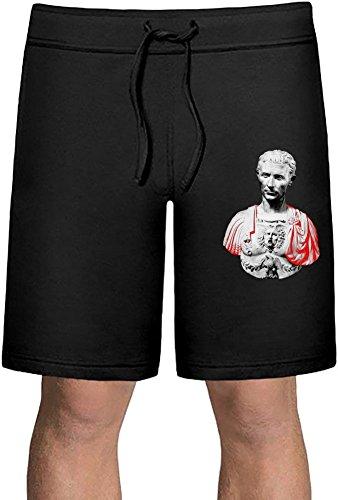 Julius Caesar Bust Sport Sommer Shorts Large (Von Julius Statue Caesar)