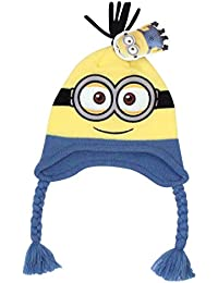 42863b88efe Official Licensed Despicable Me Bob The Minion Peruvian Hat Ages 1-2 Years  Yellow Blue