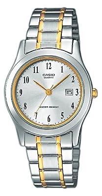 Casio LTP-1264PG-7BEF - Reloj de cuarzo para mujer, con correa de acero inoxidable, color plateado