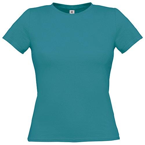 B&C Collection - T-shirt - Femme Bleu - Diva Blue