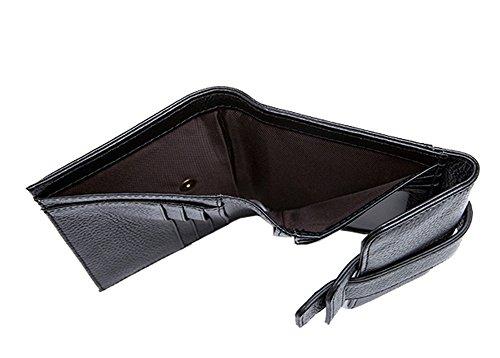 Borsa Borsellino Leggero Morbido Donna, Nero nero