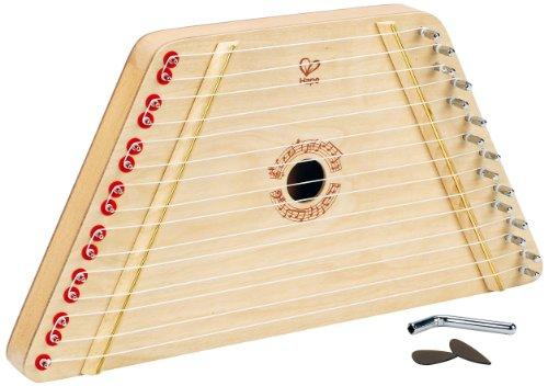 Hape E0323 E0323-Singende Harfe, Gitarren Saiteninstrumente, Natur