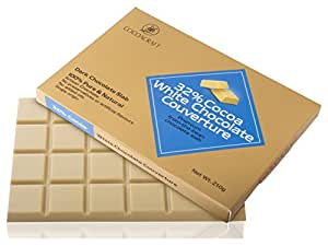 Cocoacraft White Chocolate Couverture, 210 g